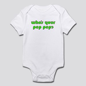 Who's Your Pep Pep? Infant Bodysuit