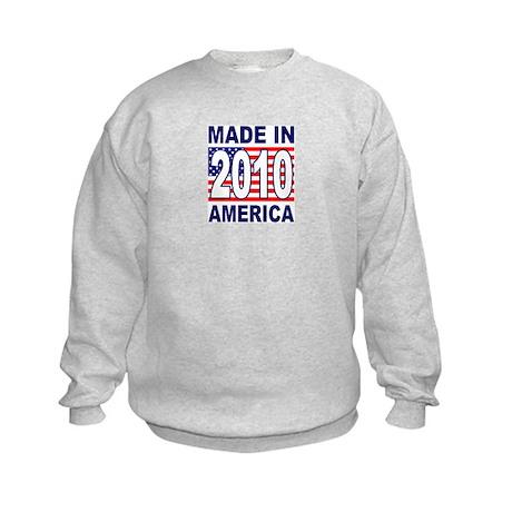 MADE IN 2010 Kids Sweatshirt