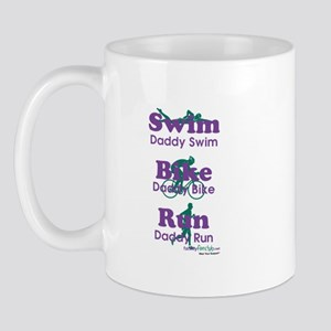 TNT Triathlon Daddy Mug