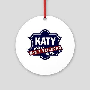 Katy Lines Round Ornament
