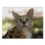 Serval Wall Calendar