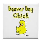 Beaver Bay Chick Tile Coaster