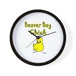 Beaver Bay Chick Wall Clock