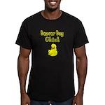 Beaver Bay Chick Men's Fitted T-Shirt (dark)