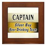 Silver Bay Beer Drinking Team Framed Tile