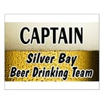 Silver Bay Beer Drinking Team Small Poster