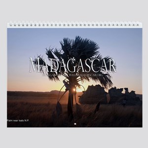 Highlights of Madagascar 12-month Wall Calendar