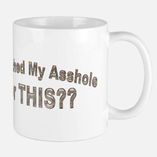 bleached asshole Mug