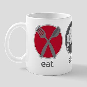 Cool Eat Sleep Tuba Music Mug