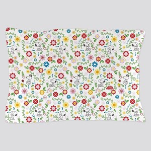 Peanuts Snoopy Spring Pattern Pillow Case
