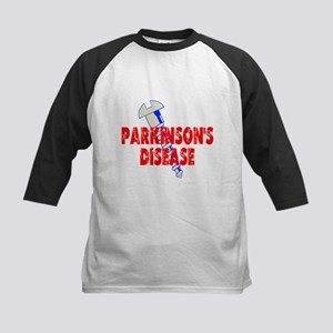Screw Parkinson's Disease Kids Baseball Jersey
