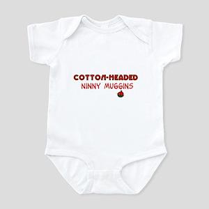 cotton-headed ninnymuggins Infant Bodysuit