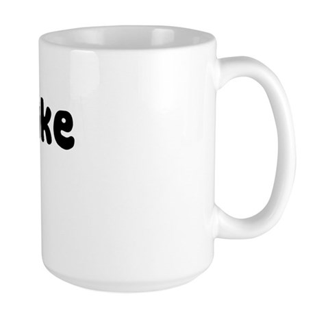 Milkshake Girl Large Mug