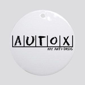 AutoX Anti-Drug Ornament (Round)