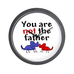 Not father (dogs) Wall Clock