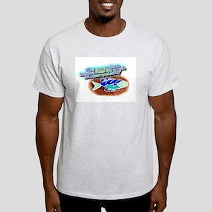 """""""God.... Fishing"""" Ash Grey T-Shirt"""