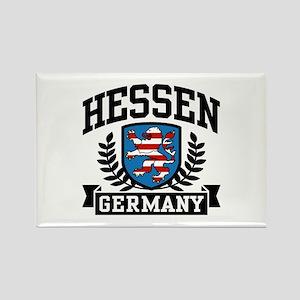 Hessen Germany Rectangle Magnet