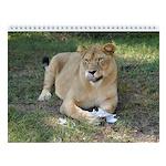 Sarabi the Barbary Lion Wall Calendar