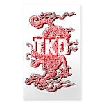 Taekwondo Dragon Sticker