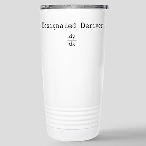 Designated Deriver Stainless Steel Travel Mug