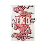 Taekwondo Dragon Magnet