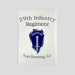29th Infantry Regiment Rectangle Magnet