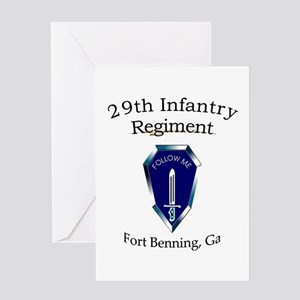 29th Infantry Regiment Greeting Card