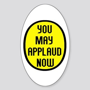 THANK YOU VERY MUCH Oval Sticker (10 pk)