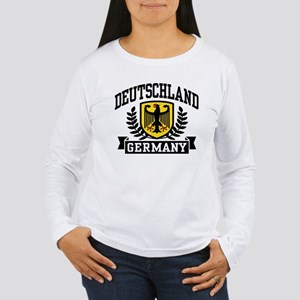 Deutschland Women's Long Sleeve T-Shirt