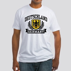 Deutschland Fitted T-Shirt