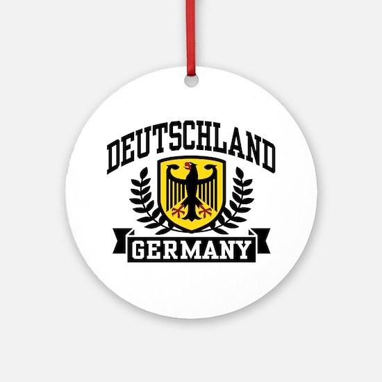 Deutschland Ornament (Round)