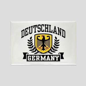 Deutschland Rectangle Magnet