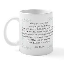 irish blessing (sq) Mug