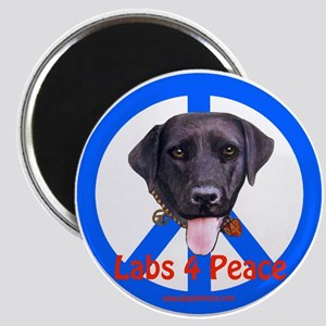 Black Labs Magnet