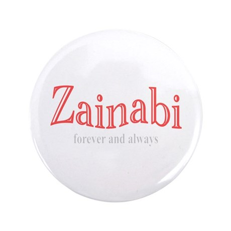"""For Zaynab (a.s.) 3.5"""" Button"""