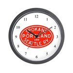SP&S Wall Clock
