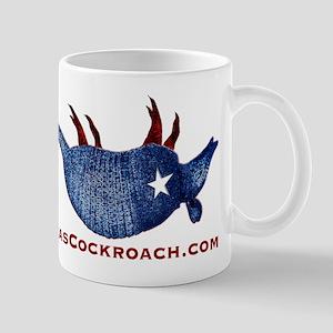 Texas Cockroach Armadillo Mug