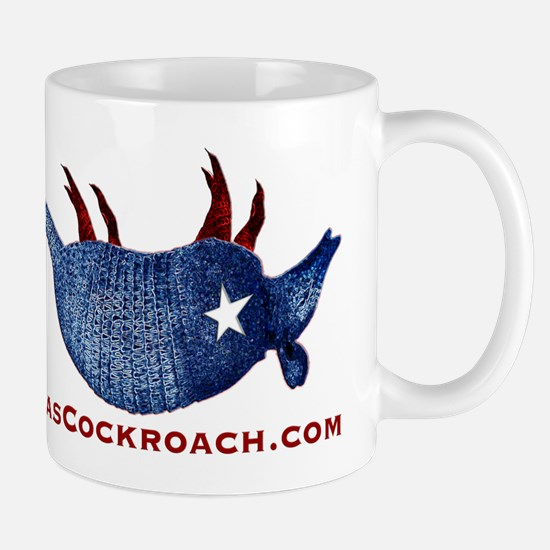 Texas Cockroach Armadillo Mug
