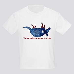 Texas Cockroach Armadillo Kids Light T-Shirt