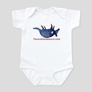 Texas Cockroach Armadillo Infant Bodysuit