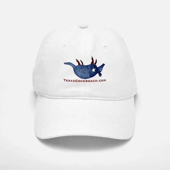 Texas Cockroach Armadillo Baseball Baseball Cap