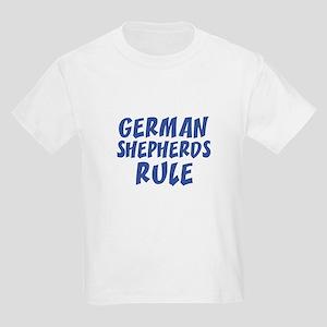 GERMAN SHEPHERDS RULE Kids T-Shirt