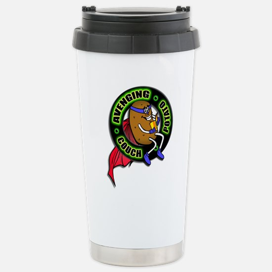 Avenging Couch Potato Stainless Steel Travel Mug