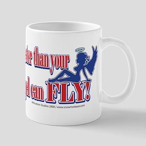 Never Sled Faster than Your G Mug
