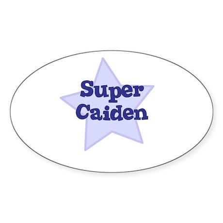 Super Caiden Oval Sticker