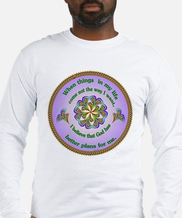 Quotations - Affirmations Long Sleeve T-Shirt