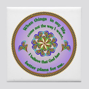 Quotations - Affirmations Tile Coaster