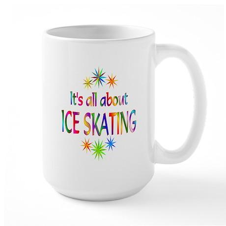 Ice Skating Large Mug