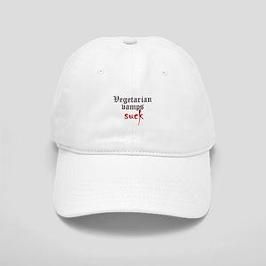 Vegetarian Vamps Suck Cap