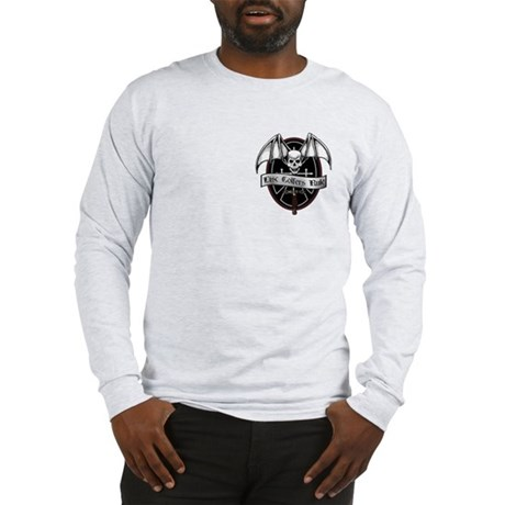 Disc Golfers Rule Long Sleeve T-Shirt